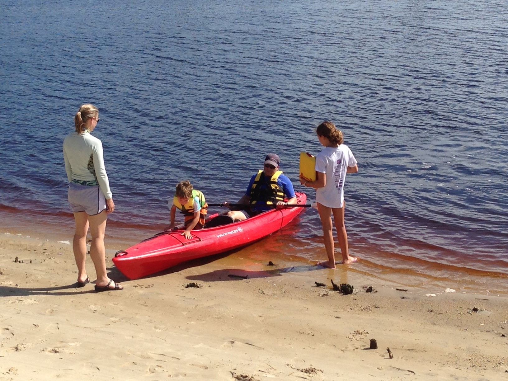 Kayaking is a must-do activity when the grandchildren visit St. James