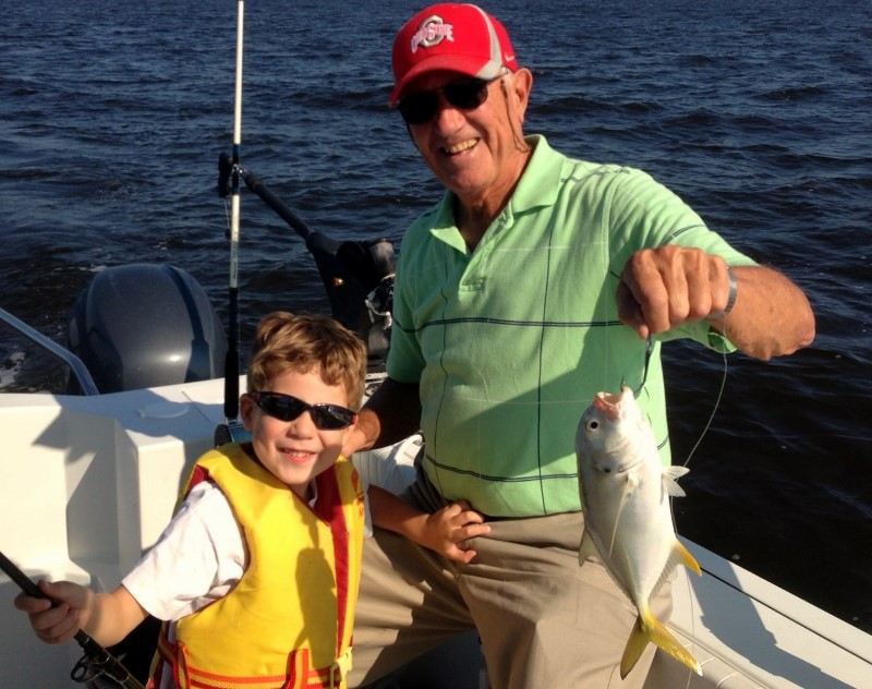 Enjoy Fishing When the Grandchildren Visit St. James