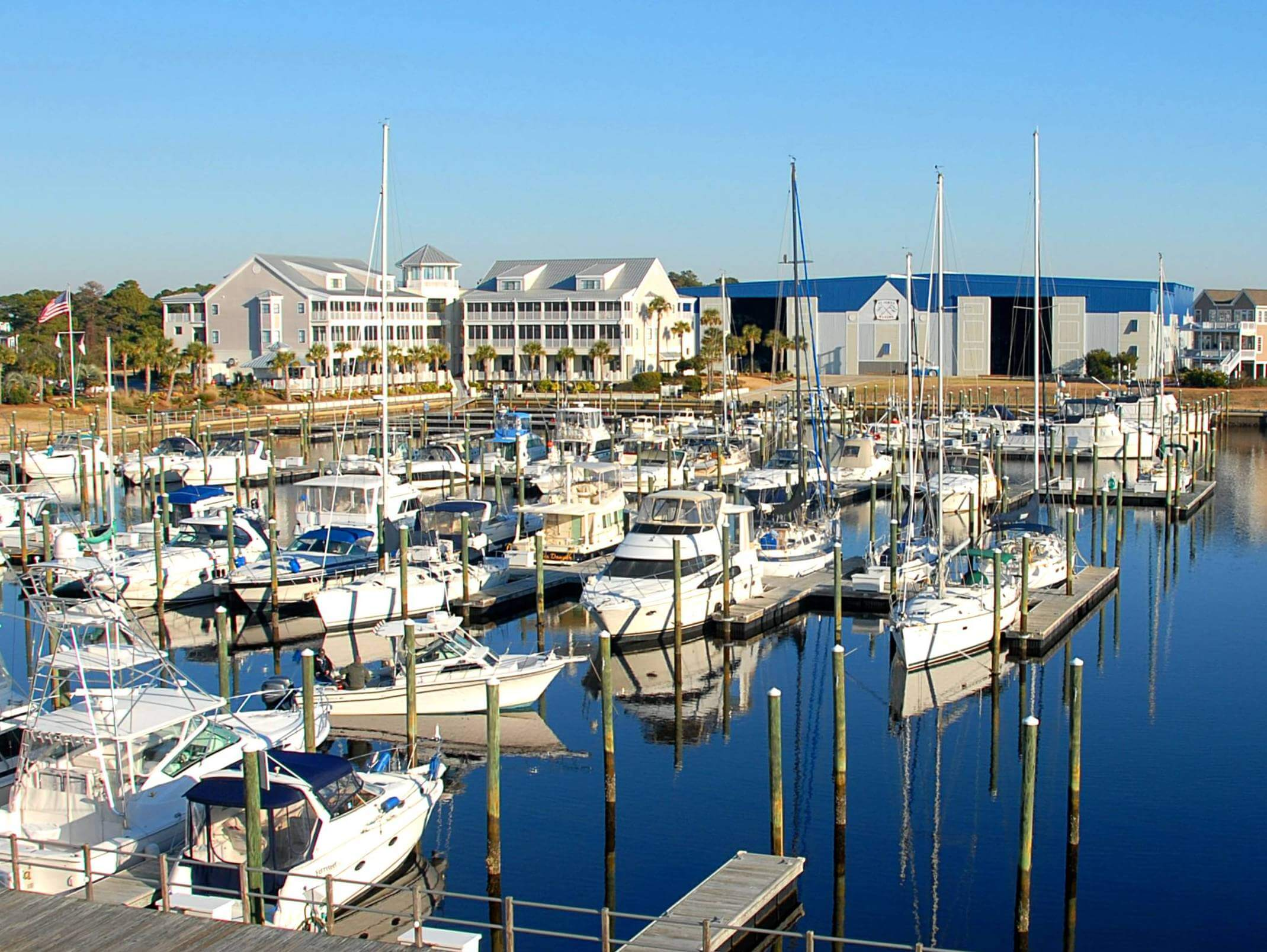 St. James Marina, Southport NC